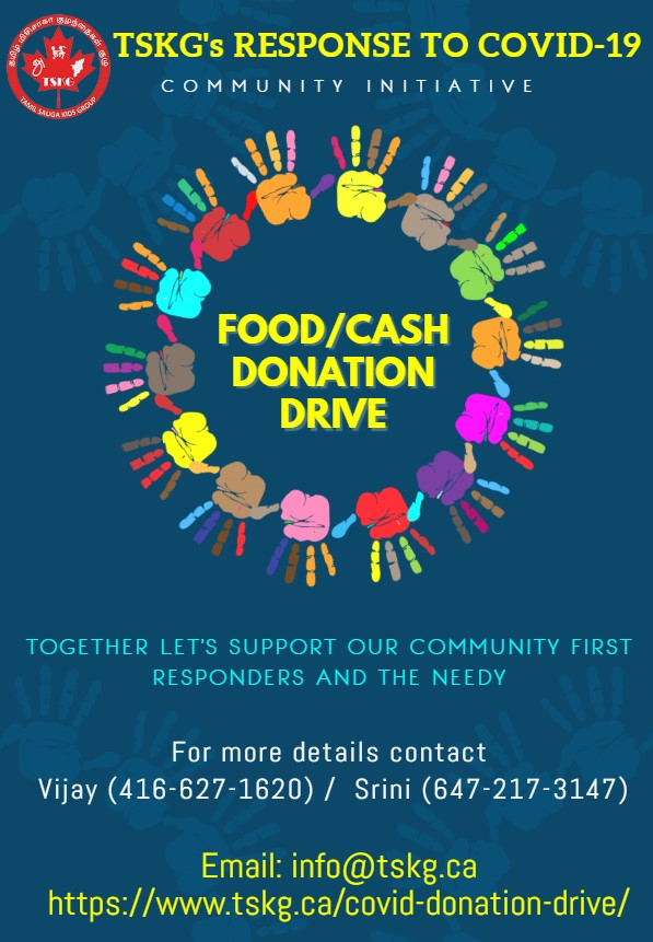 TSKG COVID-19 Donation Drive